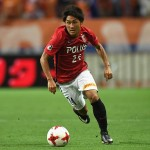 SAITAMA, JAPAN - JULY 09:  Takahiro Sekine of Urawa Red Diamonds in action during the J.League J1 match between Urawa Red Diamonds and Albirex Niigata at Saitama Stadium on July 9, 2017 in Saitama, Japan.  (Photo by Masashi Hara - JL/Getty Images for DAZN)
