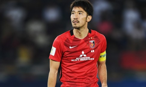 ABU DHABI, UNITED ARAB EMIRATES - DECEMBER 09: Yuki Abe of Urawa Red Diamonds looks on during the FIFA Club World Cup match between Al Jazira and Urawa Red Diamonds at Zayed Sports City Stadium on December 9, 2017 in Abu Dhabi, United Arab Emirates.  (Photo by David Ramos - FIFA/FIFA via Getty Images) *** Local Caption *** Yuki Abe